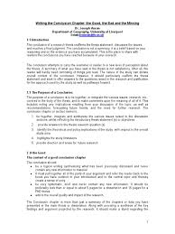 sample dissertation introduction chapter writing the conclusion chapter the good the bad and the missing writing the conclusion chapter the good the bad and the missing thesis diversification finance