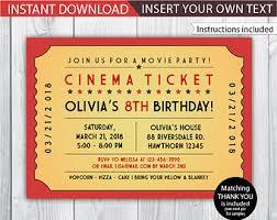 editable movie ticket template u2013 calendar
