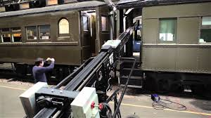 scorpio telescopic camera crane train scene youtube