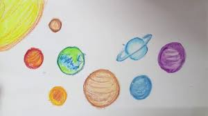 solar system planets drawing u0026 colouring fun learning for