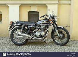 classic honda honda 500 four vintage classic motorbike motorcycle design stock