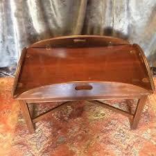 vintage ethan allen butler u0027s tray coffee table 11 8009 ebay