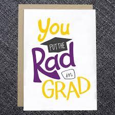 grad cards you put the rad in grad card dandymark