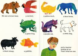 reading brown bear brown bear what do you see out loud to your kids