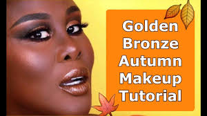 golden bronze autumn fall makeup tutorial fumi desalu vold 2016 11