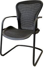 herman miller aeron guest chair 30342 roe recycled office
