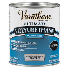 interior wood stain colors home depot varathane 1 qt clear satin water based interior polyurethane 2