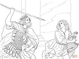 and saul coloring pages