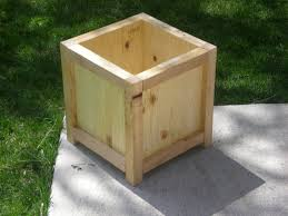 simple wooden planter box to make home pinterest wooden