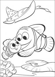 disney finding nemo fish coloring pages drawing pictures