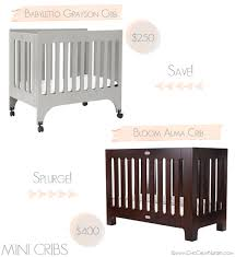 Mini Crib Vs Regular Crib Mini Cribs For The Nursery For Nurseries And Toddler Rooms