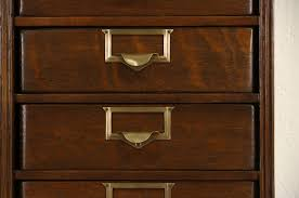 Antique Oak File Cabinet Sold Globe Wernicke 16 Drawer 1900 Antique Oak File Cabinet