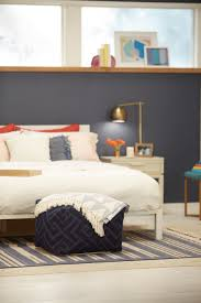 Gold And Grey Bedroom by Bedroom Engaging Slated Blue Bedroom Decoration Using Round