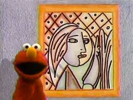 elmo painting pablo picasso muppet wiki fandom powered by wikia