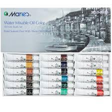 marie u0027s water soluble oil colors 18 set 12ml jerry u0027s artarama