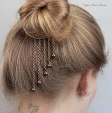 hair cuff bun cuff hair cuff wire hair bun holder bun ring copper
