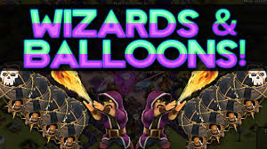 free clash of clans wizard cool wizard balloons strategy epic loot raids clash of