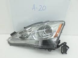 lexus is 250 xenon headlights oem headlight head light lamp headlamp lexus is250 is350 xenon hid