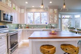 transitional style custom kitchen u2013 cherrydale kitchen and bath