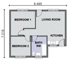 simple two bedroom house plans two bedroom house plans prissy inspiration two bedroom house plan
