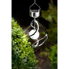 wind spinners with led lights solar powered garden led lights wind spiral spinner colour changing