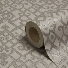 holden décor camden grey trellis wallpaper departments diy at b u0026q