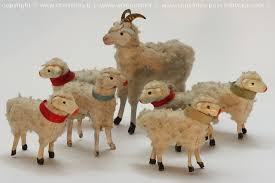 Old German Christmas Decorations by Putz Erzgebirge