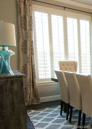 Drapes For Dining Room 25 Best Plantation Shutters With Curtains Images On Pinterest