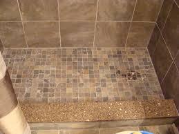 outstanding bathroom interior design using gray glass mosaic tile design slate mosaic tiles on shower floor quartz shower curb bathtub to