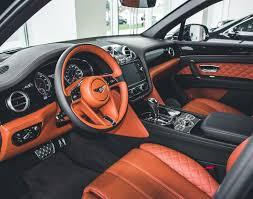 2017 bentley bentayga red interior interior bentley bentayga on instagram