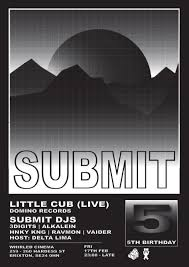 submit ra submit 5th birthday with little cub live at whirled art cinema