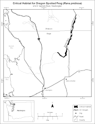 Lacey Washington Map by Federal Register Endangered And Threatened Wildlife And Plants