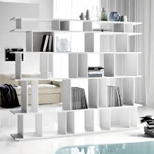 Modern White Bookcases by Furniture Fetching Picture Of Modern White Living Room Decoration
