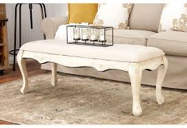 Shabby Chic Bench French Country Upholstered Bench Shabby Chic Boudoir