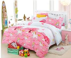 Duvet Covers Kids Girls Horse Comforter Sets Kids Pink Duvet Cover Blue Queen Size
