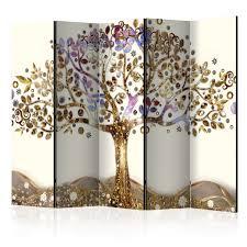 gold room divider decorative photo folding screen wall room divider abstract l c