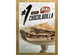 a kitkat quesadilla has arrived at taco bells in wisconsin