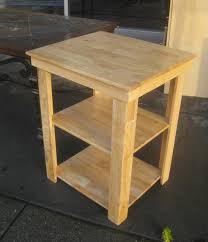 Making A Small End Table by Uhuru Furniture U0026 Collectibles Sold Small Utility Table 25