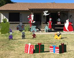 Christmas Yard Decorations Nightmare Before Christmas Yard Decorations U2013 Decoration Image Idea