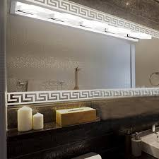 Modern Led Bathroom Lighting Modern Led Bathroom Light Fixtures Bath Vanity Mirror