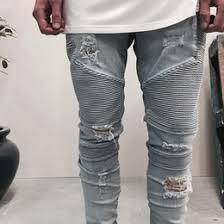 Ripped Denim Jeans For Men Men U0027s Jeans Wholesale Fashion Slim Fit Jeans On Dhgate