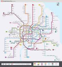 Metro North Route Map by Shanghai Metro Maps Lines Subway Stations