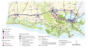 louisiana highway map louisiana speaks calthorpe associates