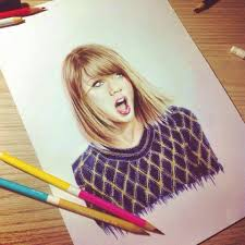 pencil drawing taylorswift