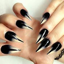 top 25 best gothic nails ideas on pinterest one glitter nails