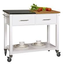 Linon Kitchen Island Amazon Com Corner Housewares Chop U0026 Prep Kitchen Island Amazon