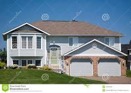 split level home royalty free stock image image 10353456
