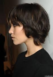 side and back views of shag hairstyle best 25 short shaggy haircuts ideas on pinterest short choppy