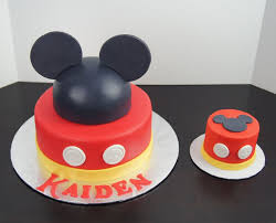 mickey mouse cake mickey mouse themed cake by k noelle cakes kids birthday cakes