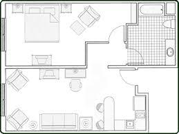 Hotel Room Floor Plan Design Hotel Room Design Design Interior
